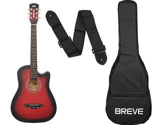 Breve BRE-38C-RD Acoustic Guitar