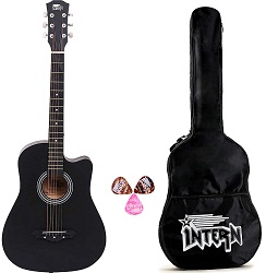 Intern Acoustic Guitar with Carrying Bag
