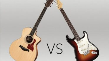 Acoustic Guitar Vs. Electric Guitar