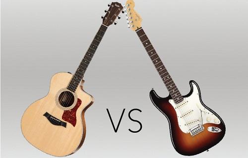 Acoustic Guitar Vs. Electric Guitar