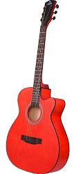 Cavani CA01, Red Acoustic Guitar