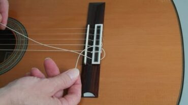 How to Tie Nylon Strings