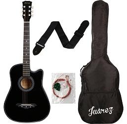 Jaurez 038C Black Acoustic Guitar