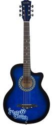 Medellin Acoustic MED-BLUE-C Guitar