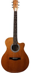 Signature G-202 semi acoustic guitar
